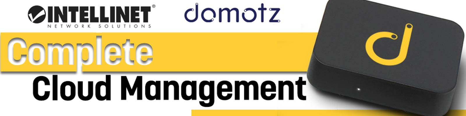 Intellinet Domotz Cooperation