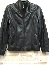 Load image into Gallery viewer, Andrew Marc Leather Moto Jacket