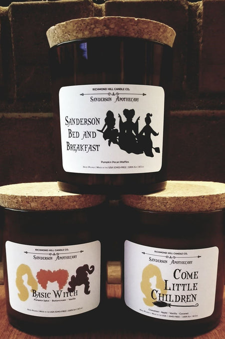 Hocus Pocus Candle Collection!