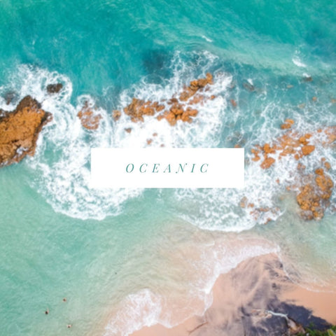 Oceanic Soy Candle Scents