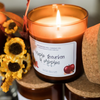 Maple Bourbon & Apples Soy Candle