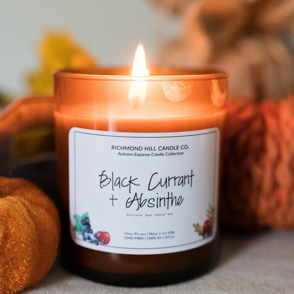 Black Currant & Absinthe Soy Candle
