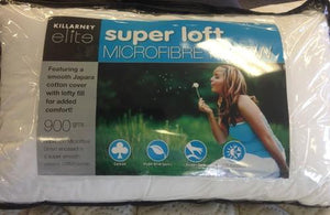 Killarney Microfibre Pillow 900gms