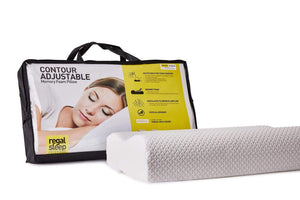 Regal Contour Adjustable Memory Foam Pillow