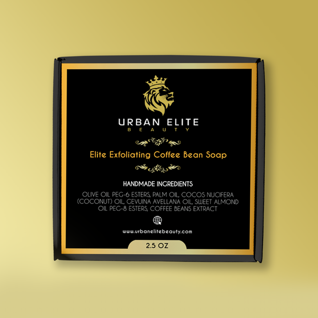 Elite Exfoliating Coffee Bean Soap