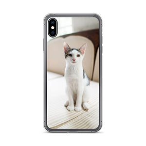 Open image in slideshow, Adorable Cat iPhone Case For All iPhone Devices