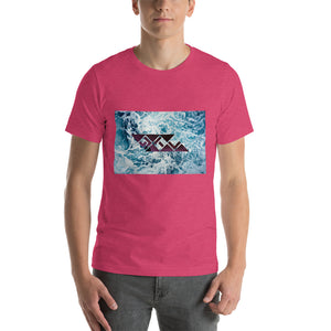 Open image in slideshow, 18 colors of Aqua Short-Sleeve Unisex T-Shirt