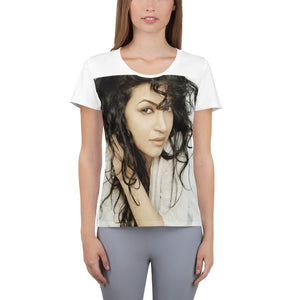 Open image in slideshow, Maryam Zakaria's Women's Athletic T-shirt