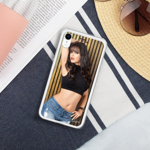 Open image in slideshow, Maryam Zakaria Exclusive Liquid Glitter iPhone Cases