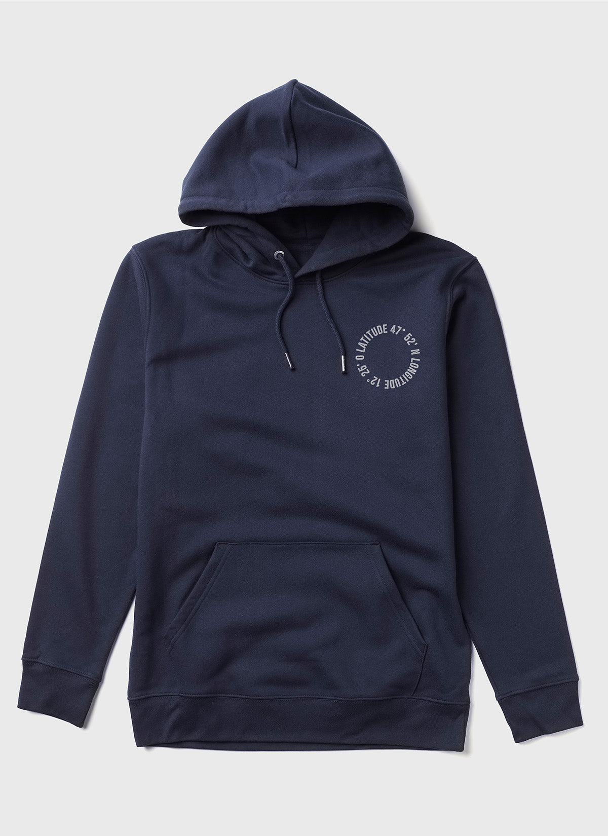 "Hoodie ""Life is better at the lake"" - navy - unisex"
