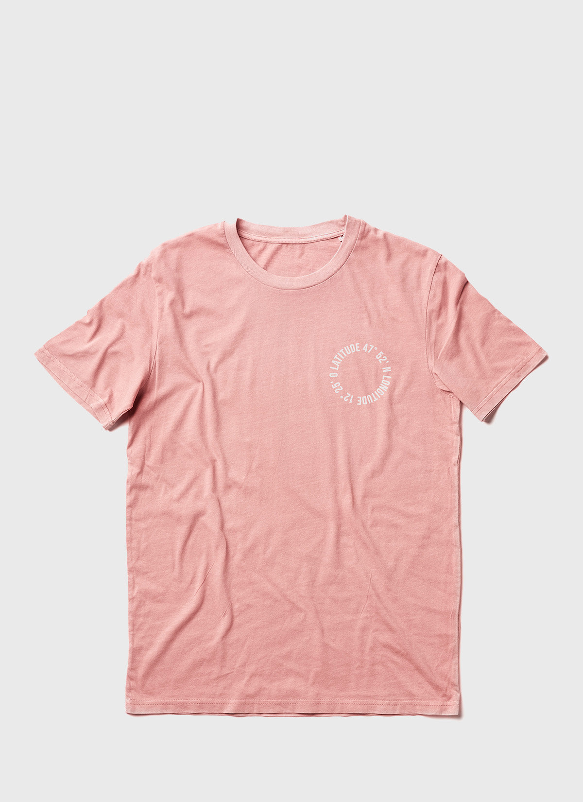 "T-Shirt ""Life is better at the lake"" - vintage rosa - unisex"