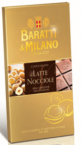 Baratti & Milano - Milk Chocolate Bar with Piedmontese Hazelnuts - 75g