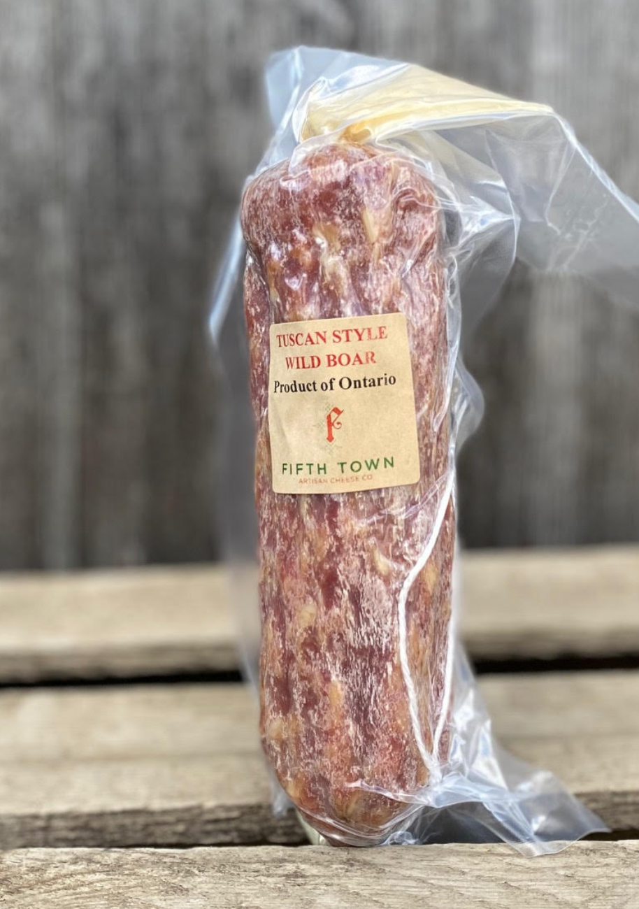 Fifth Town - Local Wild Boar Salami - 300g