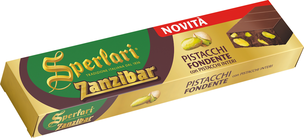 Sperlari - Zanzibar Dark Chocolate with Pistachios - 200g