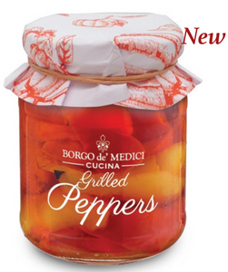 Borgo de Medici - Grilled Peppers in Oil - 280g