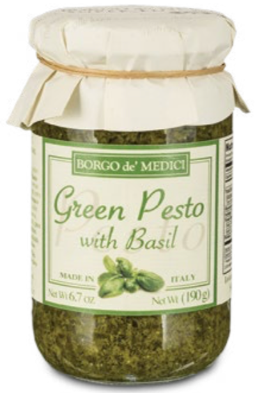 Borgo de Medici - Green Pesto with Basil - 190g