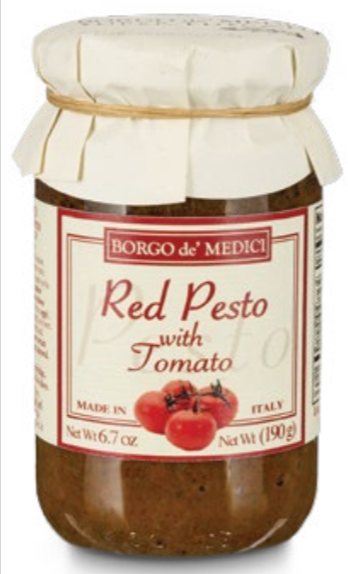 Borgo de Medici - Red Pesto with Tomato - 190g