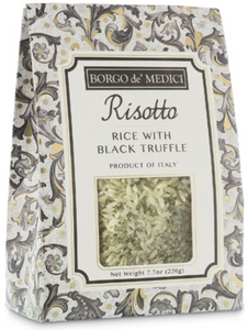 Borgo de Medici - Risotto Rice with Black Truffle -220g