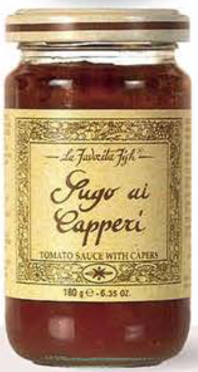 La Favorita - Tomato Sauce with Capers - 180g