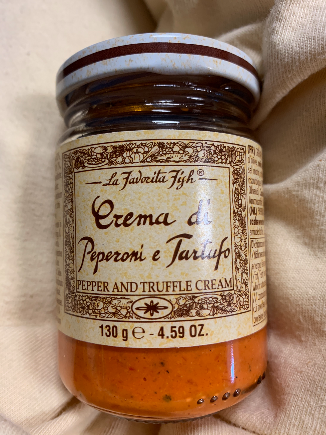 La Favorita - Red Pepper & Truffle Cream - 130g