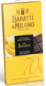Baratti & Milano - Dark Chocolate with Banana - 75g