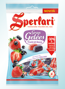 Sperlari - Frutti di Bosco - 30% less sugar - 175g
