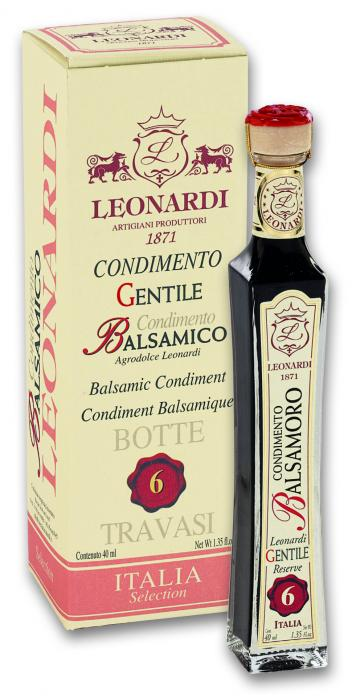 Leonardi - Balsamico Condimento 6 years old - 40ml