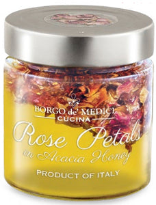 Borgo de Medici - Rose Petals in Acacia Honey - 195g