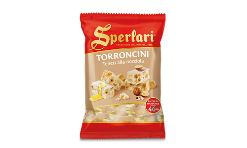 Sperlari - Soft Nougat Pieces with Hazelnut - 117g