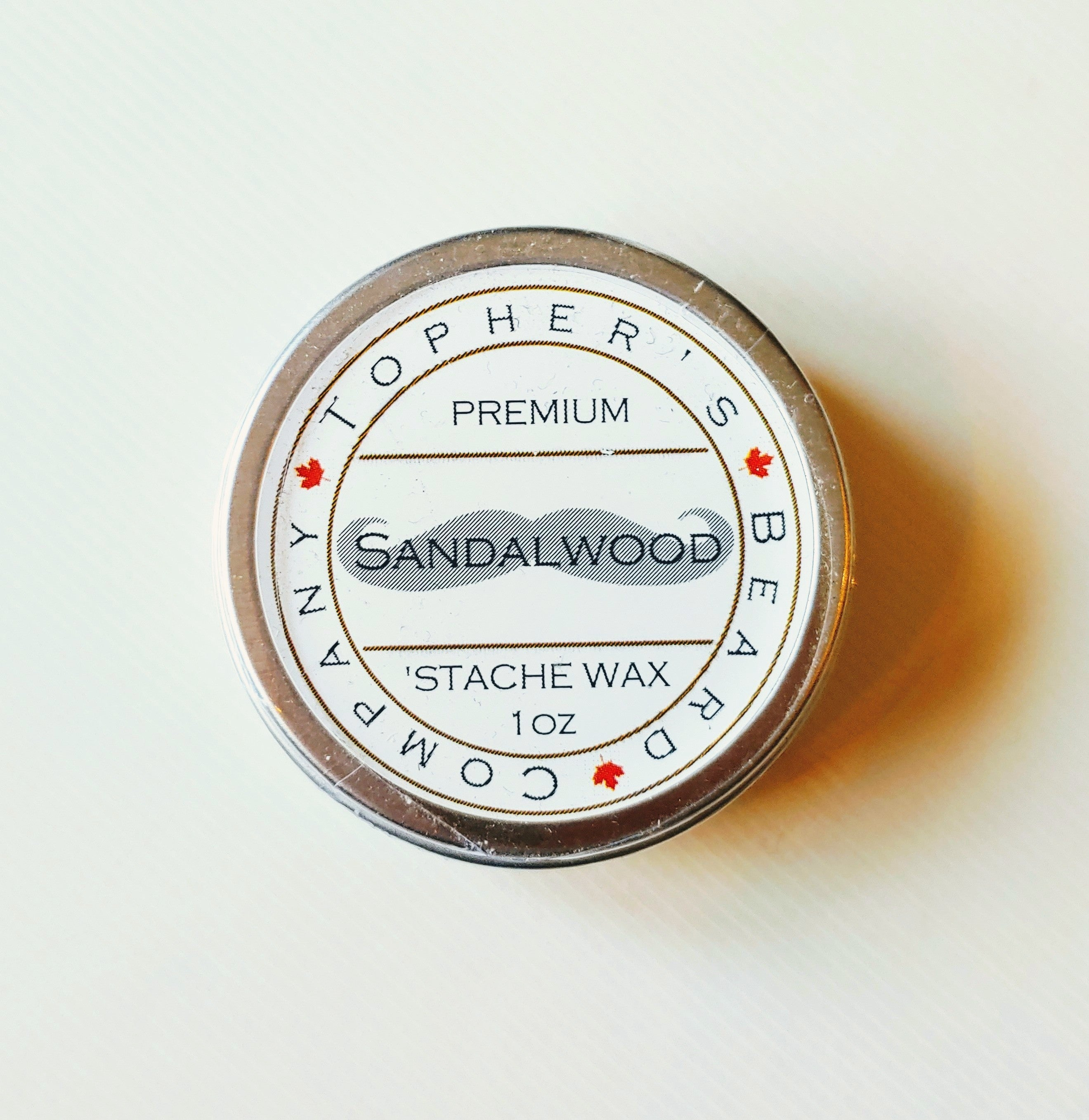 Sandalwood Premium Stache Wax