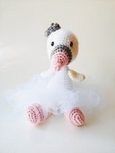 Crocheted Swan Princess