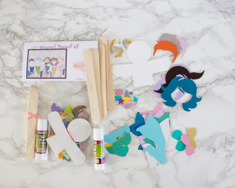 DIY Craft Kit - Mermaids