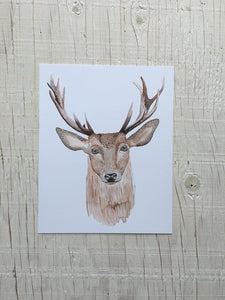 "Watercolour Print 8"" x 10"""