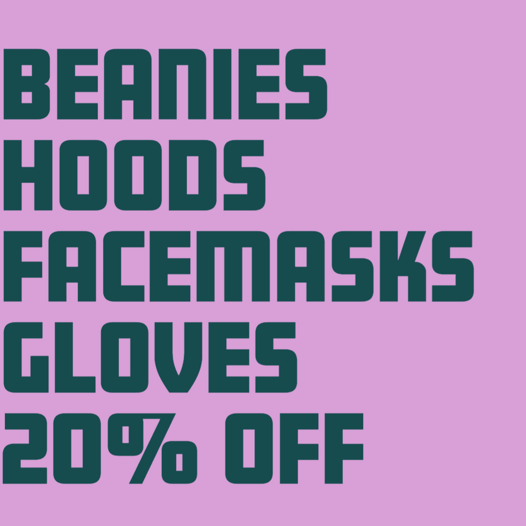 All Winter Accessories are Now On Sale