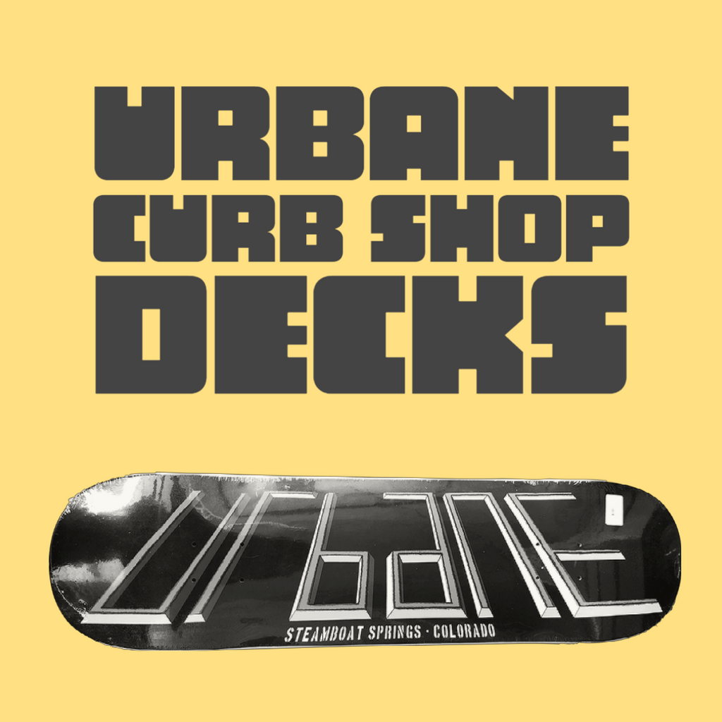 New Curb Shop Decks from Teddy Benson are Here!