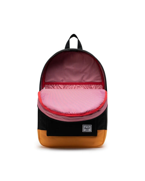Herschel Settlement Backpack - Black/Blazing Orange