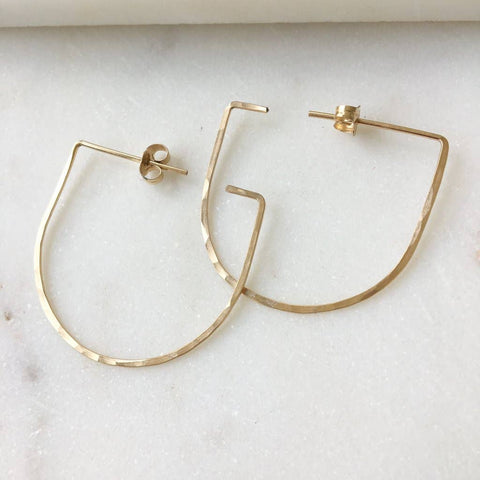 Token Saki Earrings - 14K Gold Fill