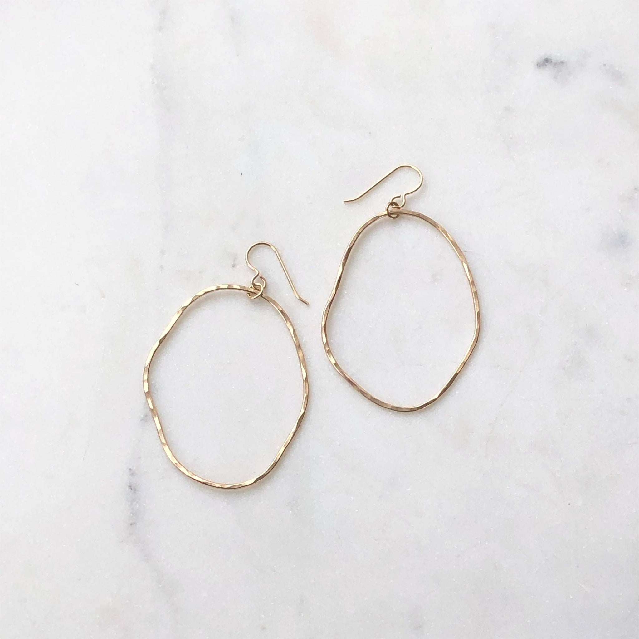 Token Jewelry Form Hoops