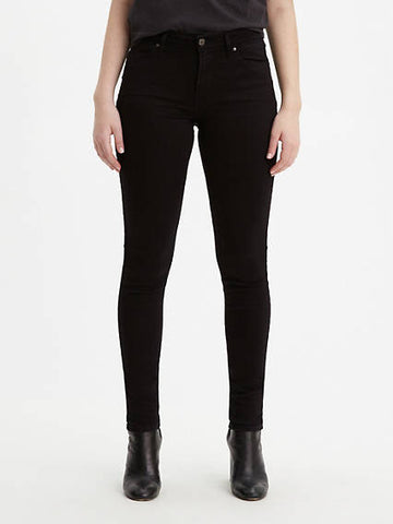 Levi's 711 Skinny - Soft Black