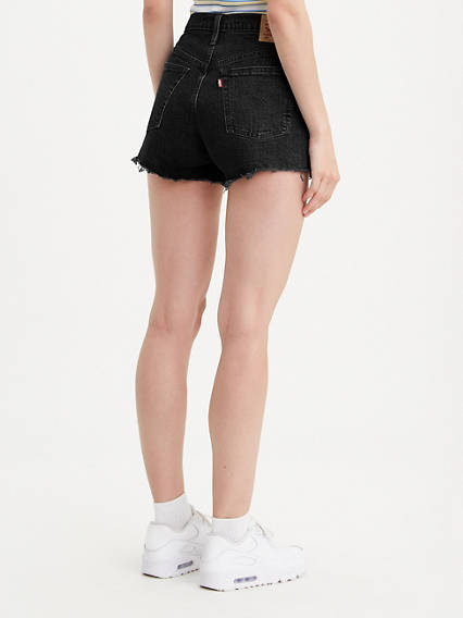 Levi's 501 Original Denim Shorts - Lunar Black