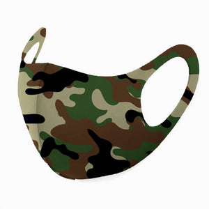 iMask Reusable Unisex Face Mask - Camo