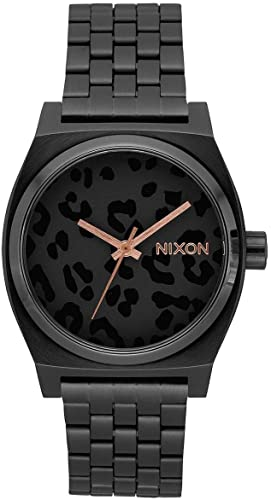 Nixon Time Teller - All Black/Cheetah