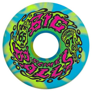 Slime Balls Goooberz Big Balls Blue/Yellow Swirl 97a 65mm