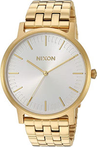 Nixon Porter Watch - All Gold/ White Sunray