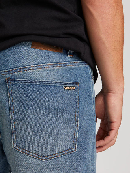 Volcom Kinkade Regular Fit Jeans - Road Sky