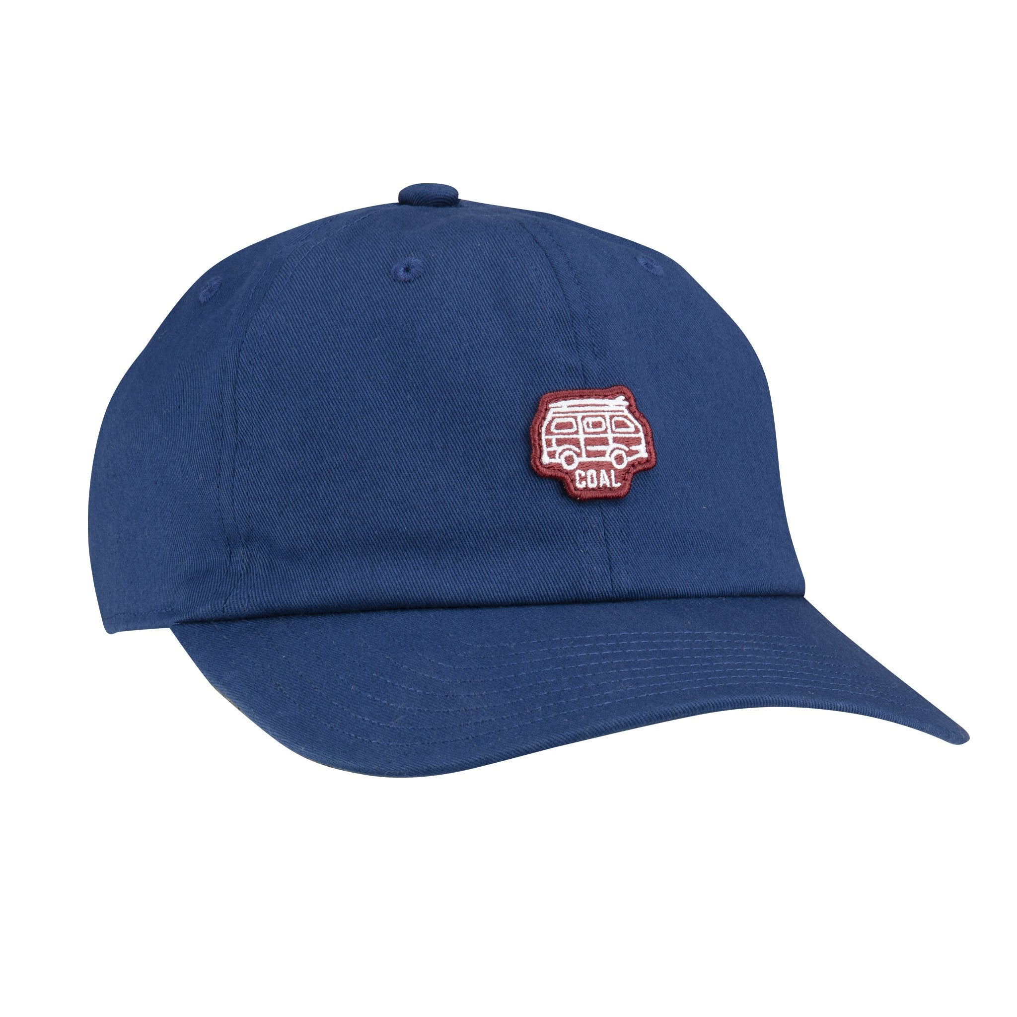 Coal The Junior Unstructured Cotton Hat - Navy