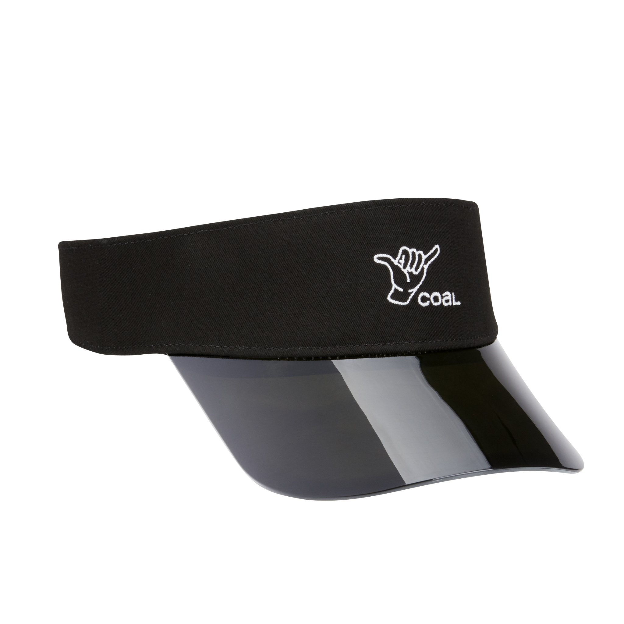 Coal The Sandy Shaka Visor - Black