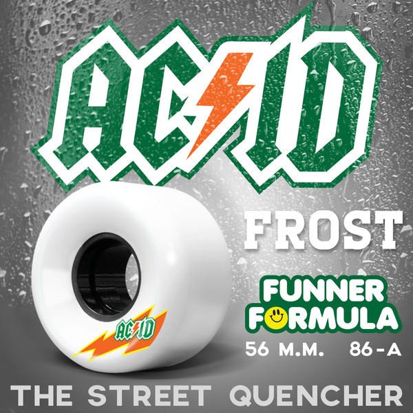 "Acid ""Skaterade Wheels"" 54mm Wheels"