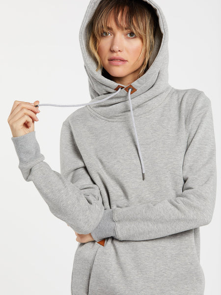 Volcom Womens Tower Pullover Fleece Hoodie