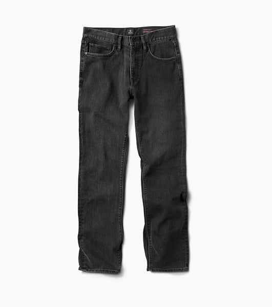 Roark HWY 128 Straight Fit Jeans - Worn Black